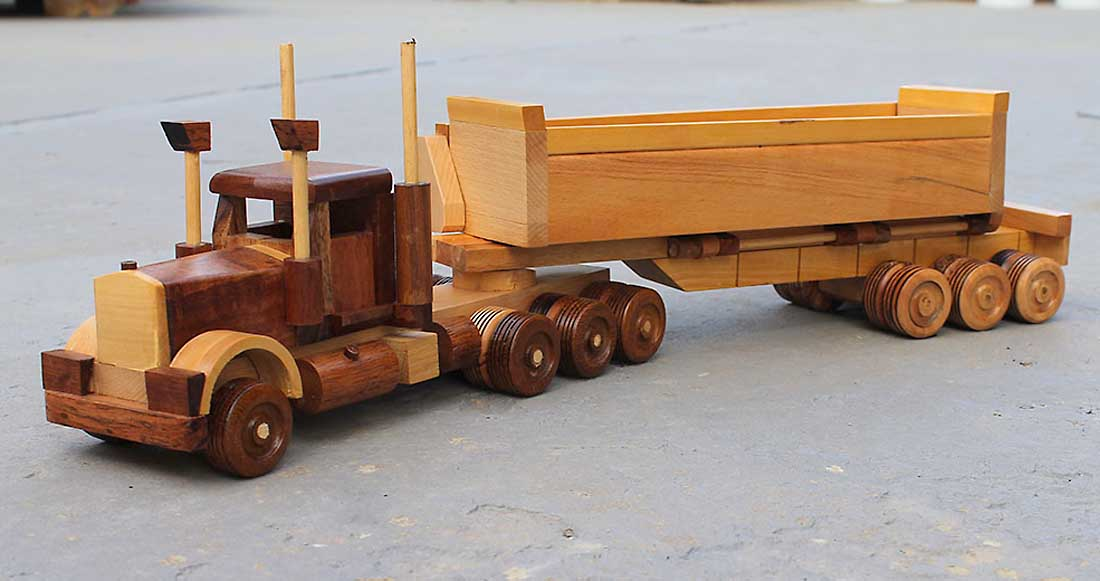 Permalink to make wood toy trucks