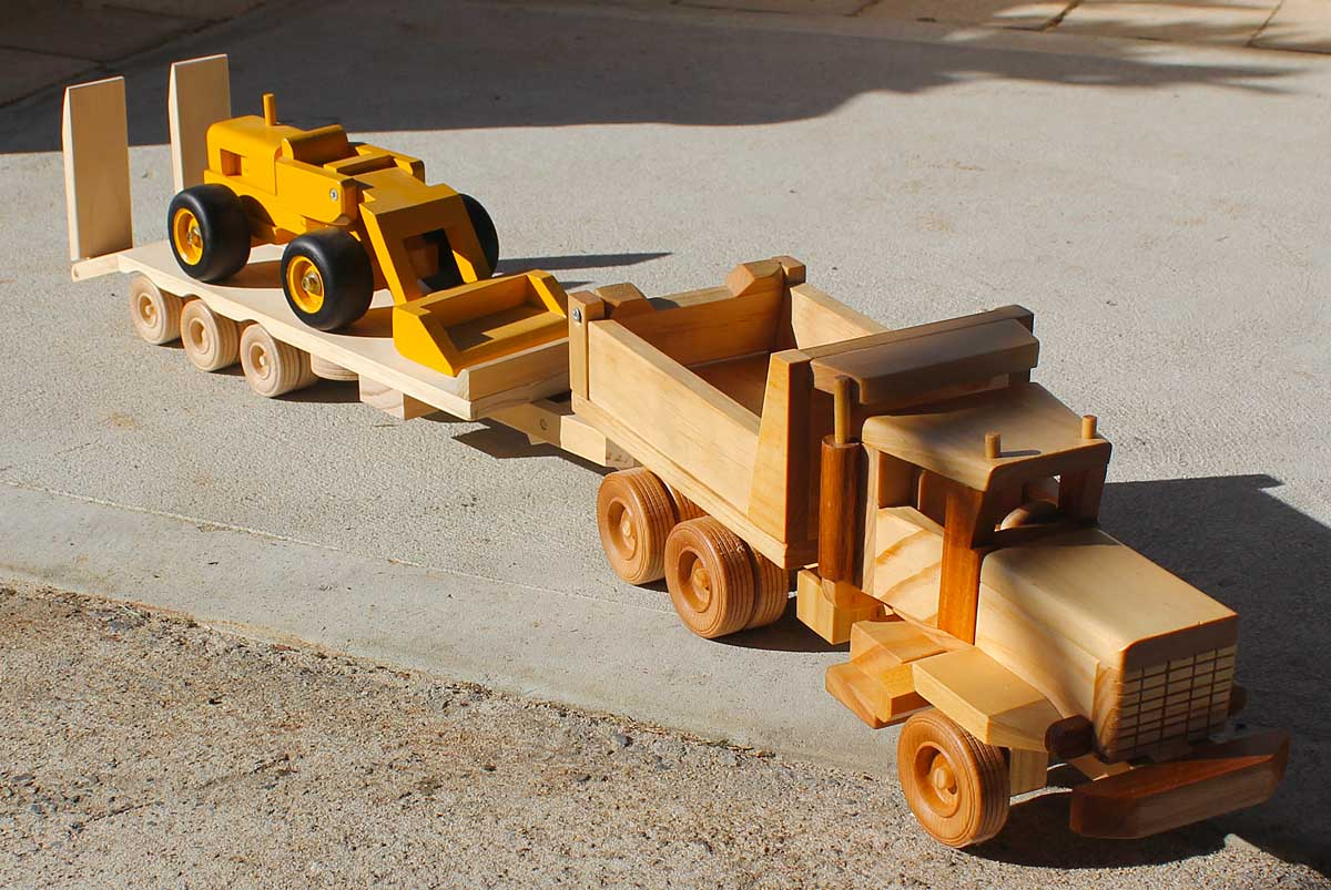 Wooden Toy Trucks Plans Free Free toy plans