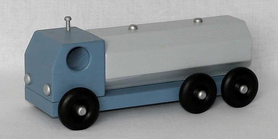 big Cab-Over-Engine Road Tractor towing 2 trailers. A most popular toy ...