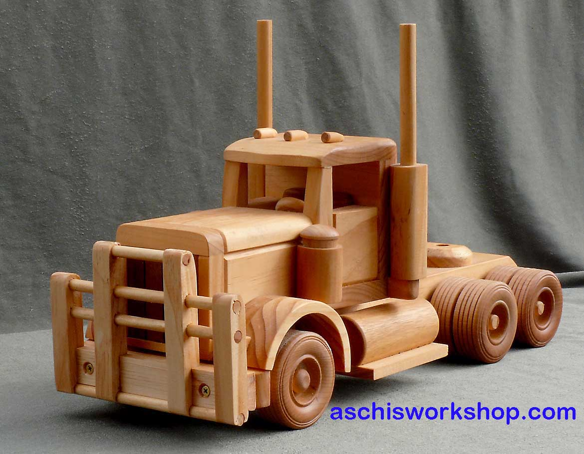 toy trucks: wooden toy trucks plans free